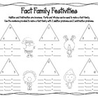 Holiday Fact Families for Addition and Subtraction