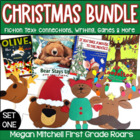 Holiday Favorites: Moose, Bear, Olive, Mouse, & Splat!