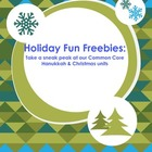 Holiday Fun Freebies