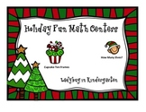 Holiday Fun Math Centers