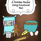 Holiday Functional Text Practice