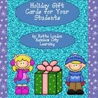 Holiday Gift Cards for Your Students