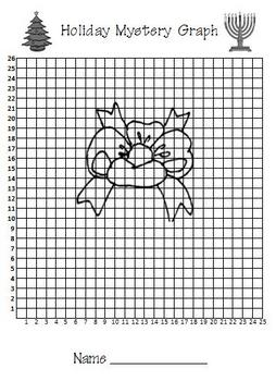 Holiday Gift Coordinate Graphing -