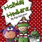 Holiday Hedbanz Cards