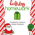 Holiday Homework Pack [Freebie!]