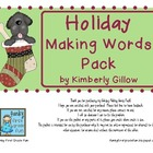 Holiday Making Words Pack