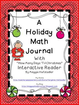 Holiday Math Journal and Interactive Reader Aligned to the CCSS