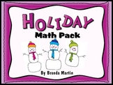 Holiday Math Pack