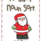 Holiday Noun Sort Activity
