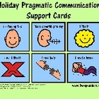 Holiday Pragmatic/Functional Communication Visual