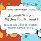 Holiday Rhythm Folder Games