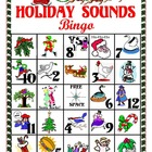 Holiday Sounds Bingo (Christmas Bingo with SOUND EFFECTS)
