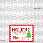 Holiday Teacher Planner {Shade of Grey}