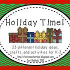 Holiday Time {Giant K-2 Activity Pack!}
