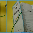 Holiday Writing Accordion Book