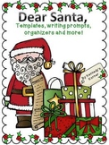 Holiday Writing ~ Letter templates, organizers, prompts an