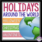 Holidays Around The World Bundle: Christmas, Valentine's D