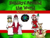 Holidays Around the World ~ A complete holiday unit aligne