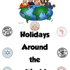 Holidays Around the World Journal and Passport Freebie