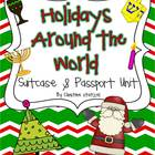 Holidays Around the World Suitcase &amp; Passport Unit