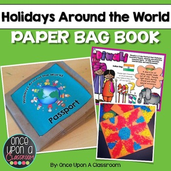 Holidays Around the World- A Fun Paper Bag Passport with Crafts, Posters & More!