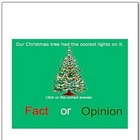 Holidays Fact or Opinion Smartboard Language Arts Lessons Pack