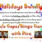 Holidays Information Gap Activity Sheets