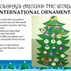 Holidays around the World:  Christmas Ornaments
