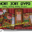 Holly Jolly Elves! Writing Display Activity