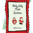 Holly Jolly Math Activities for Christmas Holiday Season