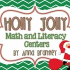 Holly Jolly Math and Literacy Centers!