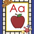 Hollywood Alphabet ABC for Movie theme popcorn theme