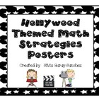 Hollywood Math Strategies Posters