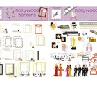 Hollywood Mega Pack Digital Graphics, Clip Art