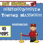Hollywood Movie Themed Classroom Resources