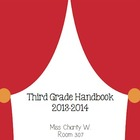 Hollywood Theme Classroom Parent Handbook