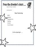 Hollywood Theme Classroom packet