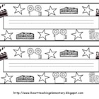 Hollywood Theme Nameplates