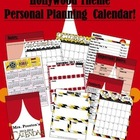 Hollywood Themed 2013-2014 Personal Planning Calendar
