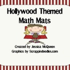 Hollywood Themed Math Mats
