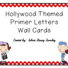 Hollywood Themed Primer Wall Cards
