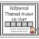 Hollywood Themed Student Job Chart