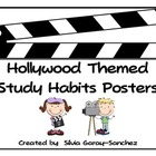 Hollywood Themed Study Habits Posters