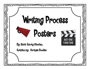 Hollywood Writing Process Posters