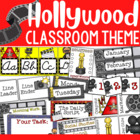 Hollywood/Movie Themed Classroom Decor and Organizational Pack