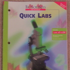 "Holt BioSources ""Quick Labs"" Lab Manual Teacher's Edition"