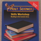 Holt Science Skills Workshop Reading in the Content Area T