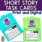 Holy Task Cards! 28 Tasks for Any Short Story