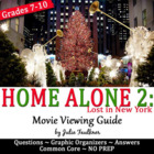 Home Alone Christmas Movie Graphic Organizer Irony Analysis
