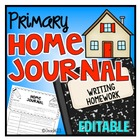 Home Journal - EDITABLE - Writing